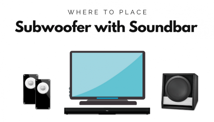 Where To Place Subwoofer with Soundbar